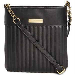 Jones New York Women's Crossbody Handbags BLACK -
